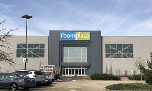 The RoomPlace took the upper level of a former Macy's for its first mall store in new market Peoria, Ill.